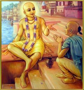Lord Caitanya and Rupa Goswami
